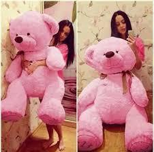 valentines big teddy big teddy for valentines day 9 pink briff me social media
