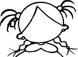 create own face empty coloring page wecoloringpage