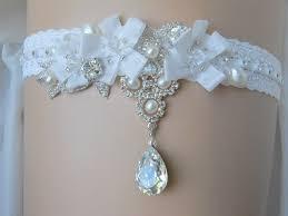 wedding garters our favorite things handmade swaroviski bridal garter