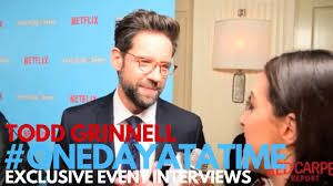 One Day At A Time by Todd Grinnell Interviewed At The Premiere Of One Day At A Time On
