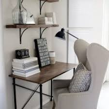 Creative Desk Ideas For Small Spaces Small Room And Furniture Gray Wood Entertainment Center Wall Unit