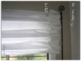 nifty thrify no sew curtains tutorial