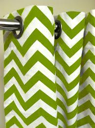 Green Chevron Shower Curtain Shower Stall Shower Curtain Premier Decorator Zig Zag Chevron