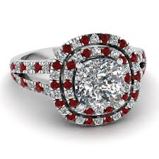 Ruby Wedding Rings by Purchase Ruby Halo Engagement Rings Fascinating Diamonds