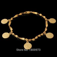 wholesale coin money sign arabic jewelry great gifts18k gold color
