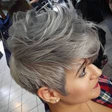 glamorous styles for medium grey hair grey hair trend 20 glamorous hairstyles for women 2018 page 3 of 4