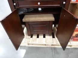 Pc On Desk Or Floor Desks Costco Filing Cabinets Bayside Computer Desk Costco