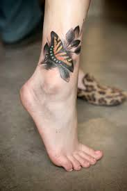 small butterfly tattoos on ankle 221 best butterfly tattoos images on pinterest girly tattoos