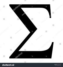 greek letter sigma format
