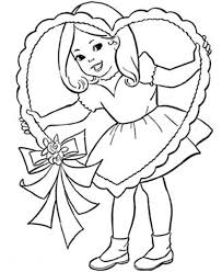 valentine coloring pages little valentine coloring pages of