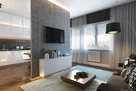 Modern Studio Apartment Ideas For A Young Family RooHome - Modern studio apartment design