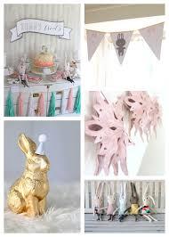 bunny decorations bunny birthday party