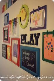 here are some creative ways to display your kid u0027s art child art