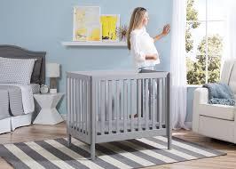 white mini crib with changing table bennington elite mini crib with mattress delta children