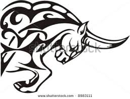 longhorn bull skull tattoo design in 2017 real photo pictures