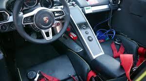 porsche 918 interior riding shotgun in the porsche 918 we get an early ride and a deep