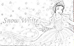 snow white colouring pages gekimoe u2022 25337