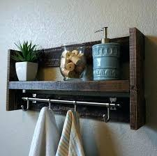 Bathroom Towel Rack Ideas Wooden Bathroom Towel Rack Shelf Four Tier Bathroom Shelf House
