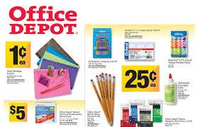 Office Depot Office Depot Supply Deals For Week Of 8 4 13