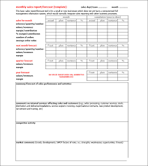 Monthly Sales Report Template Excel Sales Report Template 15 Free Word Excel Pdf Format