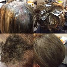 foil highlights for brown hair style spotlight partial foil color the thomas moore salon