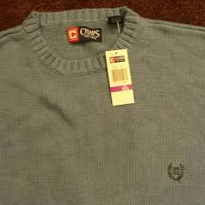 chaps sweaters mens light blue chaps sweater nwt from ians closet on poshmark