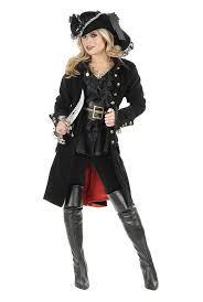 2013 new deluxe ladies pirate costume 5pcs black gothic halloween