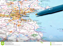 Maps Of Boston by Map Of Boston Royalty Free Stock Image Image 5398376