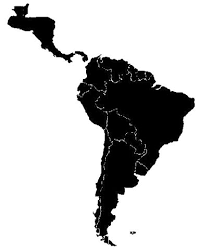 map of and south america black and white ancient american civilizations