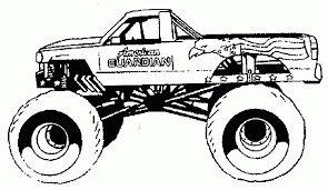 46 images of free monster truck coloring pages gianfreda net