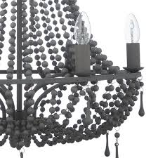 buy john lewis marilyn beaded paris chandelier grey john lewis