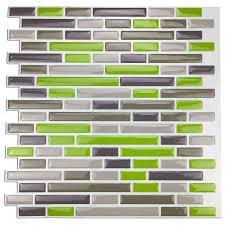 amazon com art3d kitchen backsplash peel and stick tile smart