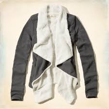 Hollister Clothes For Girls Pebbly Beach Sherpa Lined Cardigan From Hollister Co