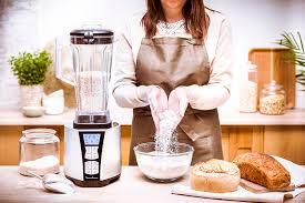 recette de cuisine avec blender photos lifestyle avec appareils cuisine et ingrédients marielys