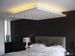 plafond chambre étoilé plafond rétro éclairé avec effet étoilé extension