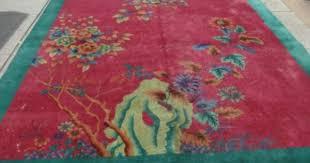 Nichols Chinese Rugs Antique 9x11 Art Deco Nichols Chinese Oriental Area Rug Dreamy