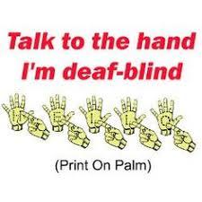 Deaf Blind Movie Manual Alphabet For Deaf Blind Fingerspelling Use With Helen