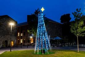 christmas tree light game hobart city council commits to small spend on christmas