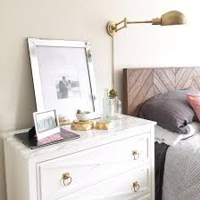Antique Marble Top Nightstand Bedroom Nightstand Granite Top Nightstand Wrought Iron Night