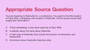 Opry Mills Store Map Research Tcap Review Reliable And Appropriate Research Sources