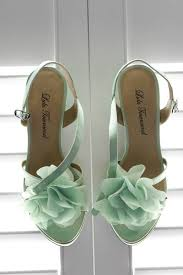 mint wedding shoes mint obsession green bridal shoes bridal gowns