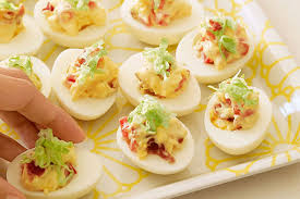 deviled egg dish blt deviled eggs kraft recipes