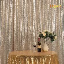 buy gold sequin curtains and get free shipping on aliexpress com