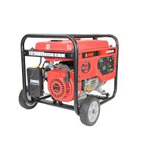 a ipower 4000 watt gasoline powered manual start portable