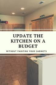 how do you update oak kitchen cabinets how to update wood cabinets no painting
