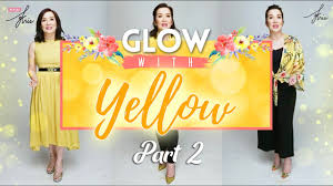 wear kris glow with yellow lookbook part 2 of 3 kris aquino
