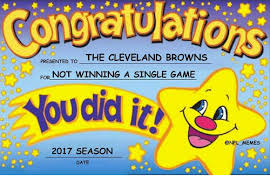 Cleveland Meme - congratulation desented to the cleveland browns r not winning a