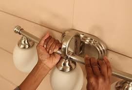 Install Bathroom Light How To Install A Bath Vanity Light At The Home Depot