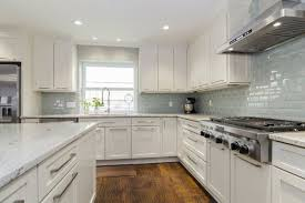 Backsplash For White Kitchens Modern White Kitchen Cabinets Green Wall Paint Color For Country