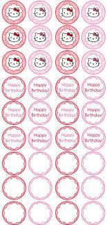 hello cake toppers free printable hello cupcake toppers printable toppers